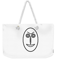 Mr Mf Is Friendly  Weekender Tote Bag