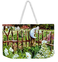 Mr Moon's Garden Weekender Tote Bag