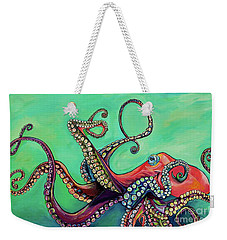 Mr Octopus Weekender Tote Bag