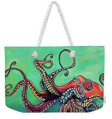 Mr Octopus Weekender Tote Bag