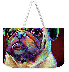 Mr. Pugnacious  Weekender Tote Bag