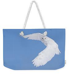 Mr Snowy Owl Weekender Tote Bag
