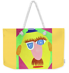 Weekender Tote Bag featuring the painting Mr. Strangefellow by Thomas Blood