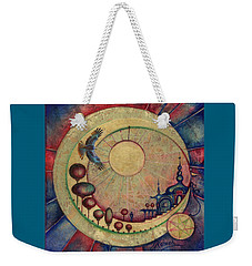 Mr Twardowski On The Moon Weekender Tote Bag