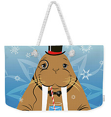 Mr. Walrus Weekender Tote Bag