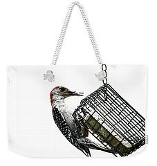 Mr. Woodpecker Weekender Tote Bag