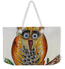 Mr.orange Owl Weekender Tote Bag