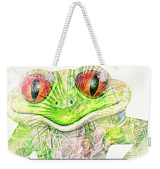Mr Ribbit Weekender Tote Bag