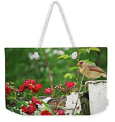 Mrs. Cardinal Weekender Tote Bag