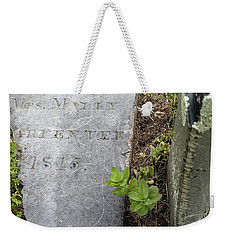 Mrs. Molly Carpenter 1815 Weekender Tote Bag by Bruce Carpenter