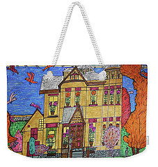 Mrs. Robert Stephenson Home. Weekender Tote Bag