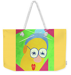 Weekender Tote Bag featuring the painting Mrs. Strangefellow by Thomas Blood