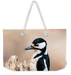 Mrs Woodpecker Weekender Tote Bag