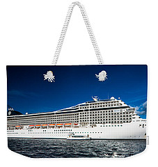 Msc Poesia Weekender Tote Bag by Christopher Holmes