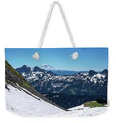 Mt Adams And The Tatoosh Weekender Tote Bag