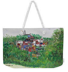 Mt. Adams  Cincinnati Ohio Weekender Tote Bag