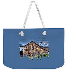 Weekender Tote Bag featuring the photograph Mt. Adams by Thom Zehrfeld