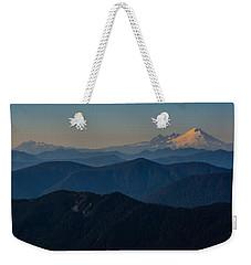 Mt. Baker From Mt. Pilchuck Weekender Tote Bag