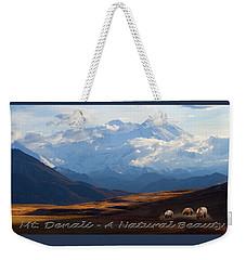 Mt. Denali National Park Weekender Tote Bag