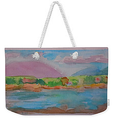 Mt Desert From Marlboro Beach Weekender Tote Bag