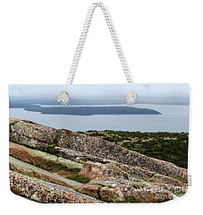 Mt. Destert Island View Weekender Tote Bag