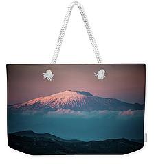Mt. Etna II Weekender Tote Bag