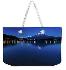 Mt Fuji - Blue Hour Weekender Tote Bag