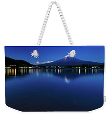 Mt Fuji - Blue Hour Weekender Tote Bag