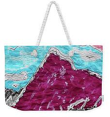 Mt. Fuji Village  Weekender Tote Bag