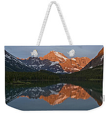 Weekender Tote Bag featuring the photograph Mt. Gould by Gary Lengyel