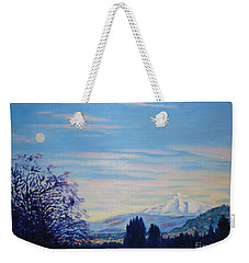 Mt Hood A View From Gresham Weekender Tote Bag