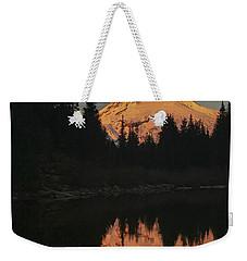 Mt Hood Alpenglow II Weekender Tote Bag