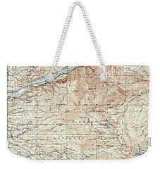 Mt. Hood And Environs Topographic Map  1911 Weekender Tote Bag