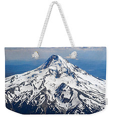 Mt. Hood From 10,000 Feet Weekender Tote Bag