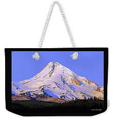Mt. Hood, Oregon Weekender Tote Bag