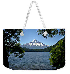 Mt Hood Over Lost Lake Weekender Tote Bag