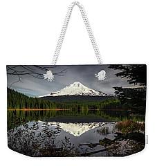Mt Hood Reflection Weekender Tote Bag