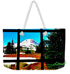 Mt. Hood View Weekender Tote Bag