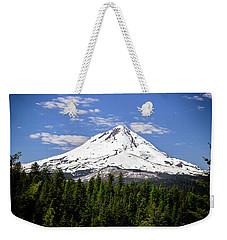 Mt. Hood's East Face Weekender Tote Bag