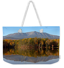 Mt Katahdin Baxter State Park Fall 1 Weekender Tote Bag