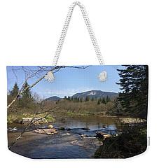 Mt. Katahdin Weekender Tote Bag by Robin Regan