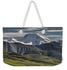 Weekender Tote Bag featuring the photograph Mt. Mather by Gary Lengyel