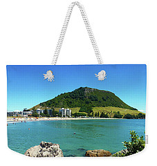 Mt Maunganui Beach 7 - Tauranga New Zealand Weekender Tote Bag