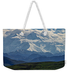 Weekender Tote Bag featuring the photograph Denali by Gary Lengyel