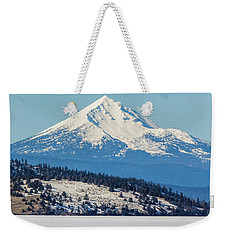 Weekender Tote Bag featuring the photograph Mt. Mcloughlin by Marc Crumpler