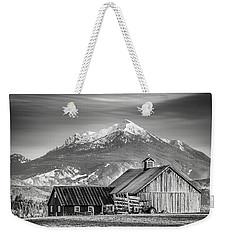 Mt Pilchuck Weekender Tote Bag