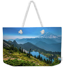 Mt. Rainier And Eunice Lake Weekender Tote Bag