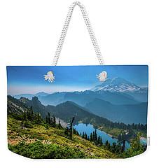 Mt. Rainier And Eunice Lake Weekender Tote Bag