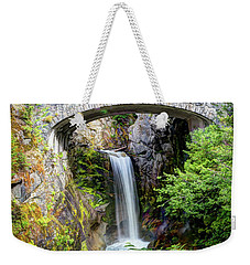Mt Rainier National Park, Christine Falls Weekender Tote Bag