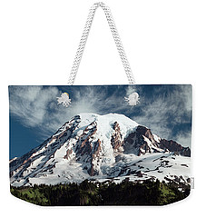 Mt Rainier - Washington State Weekender Tote Bag by Greg Sigrist